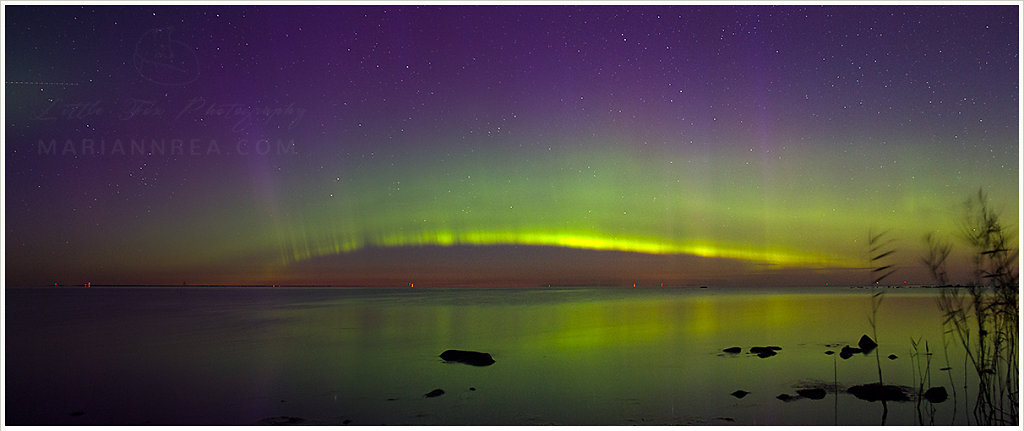 Aurora Borealis in Saaremaa